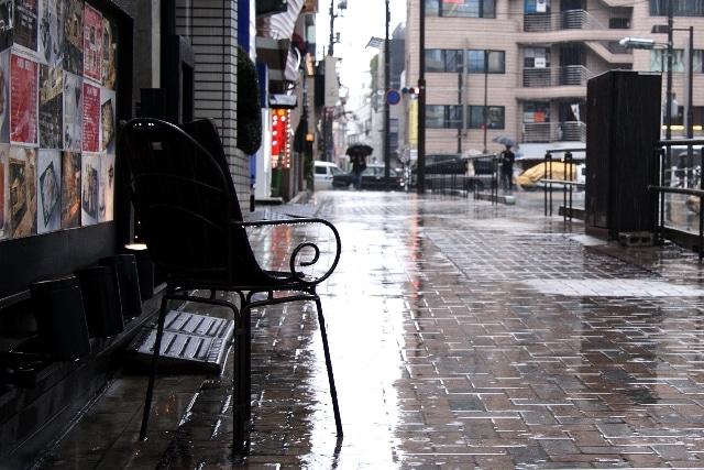 雨 原付 雨ざらし