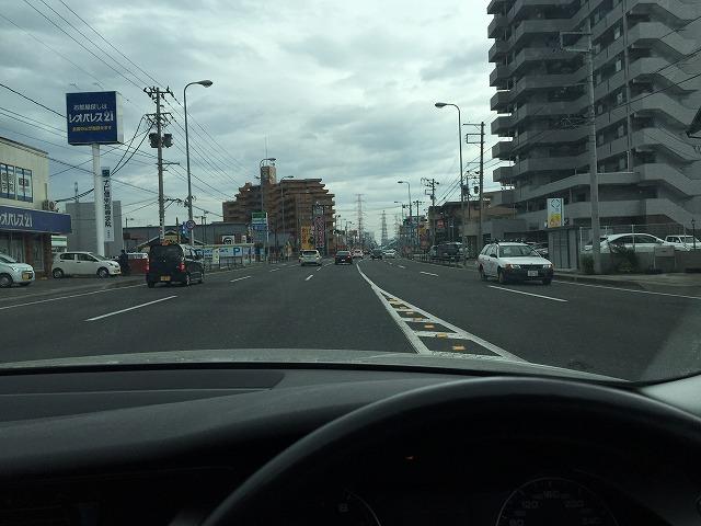 仙台東ライダースへ右折