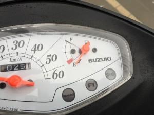 アドレス 燃料計